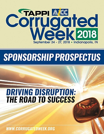 Click to view 2018 Corrugated Week Sponsorship Prospectus